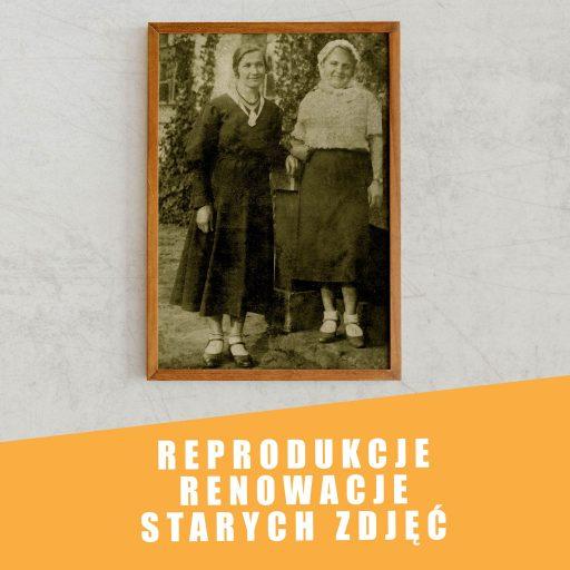 Reprodukcja oraz renowacja starych zdjęć